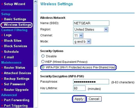 SECURITY ACCESS IN THE NETGEAR AX 5400 ROUTER